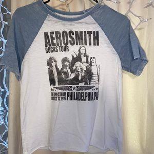 American Eagle Aerosmith band T-shirt